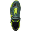 Northwave Spider Plus 2 Shoes Men green gable/yellow fluo